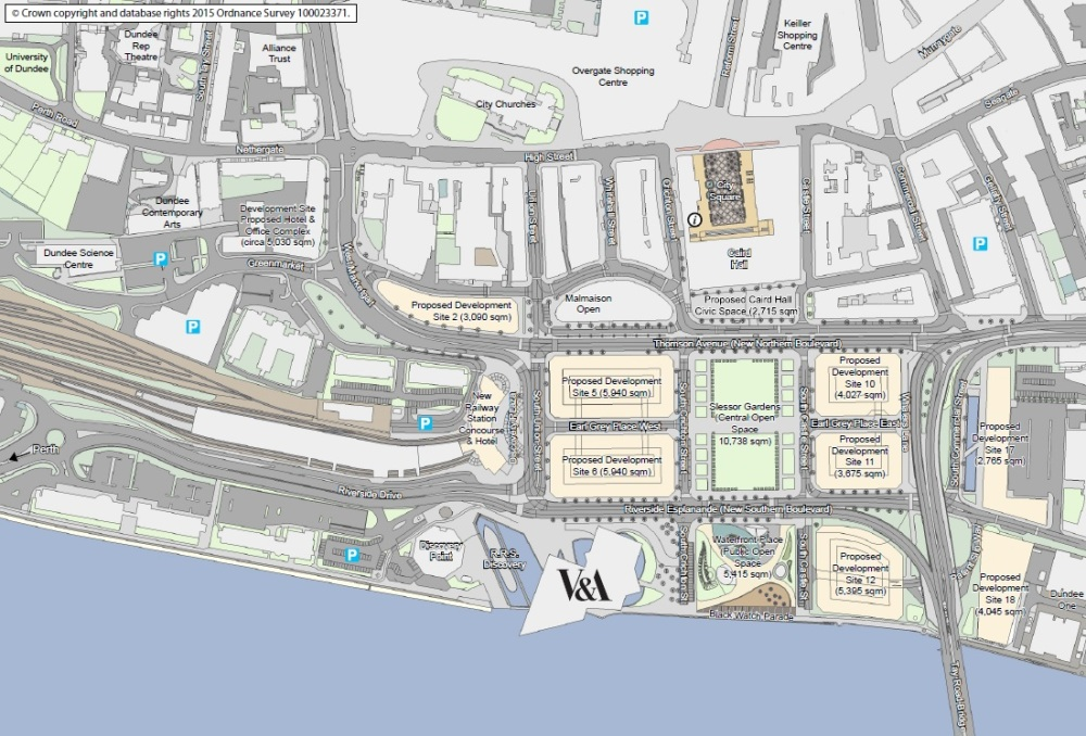 central waterfront site map Jun15