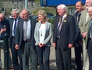 Clyde Coast Path Opening Sally Magnusson