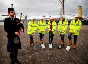 Dundee ground breaking cermony