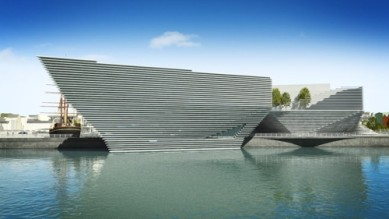 Dundee Central Waterfront Artists Impression
