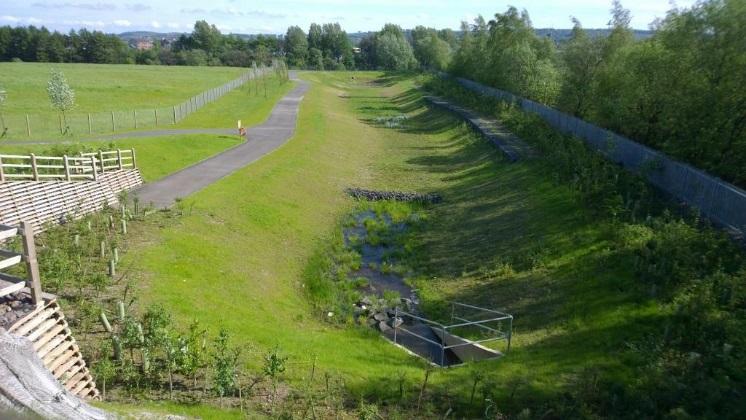 South Dalmarnock Regional SuDS Pond